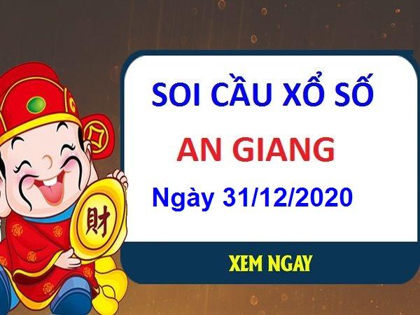 Soi cầu XSAG ngày 31/12/2020