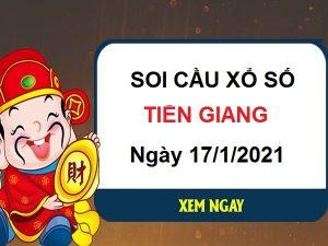 Soi cầu XSTG ngày 17/1/2021 – Soi cầu xổ số Tiền Giang cùng chuyên gia
