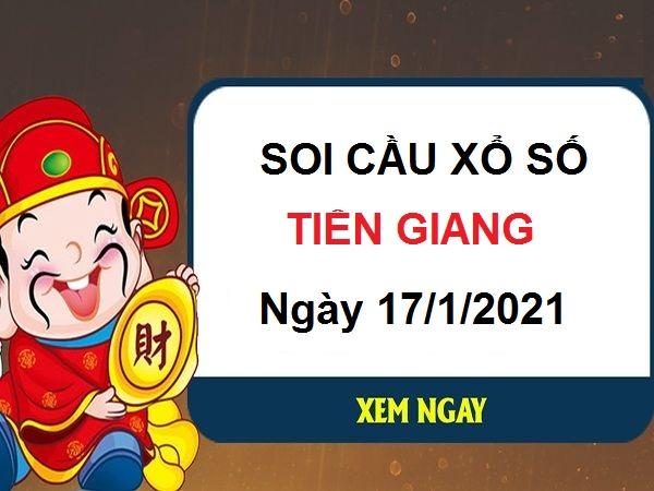 Soi cầu XSTG ngày 17/1/2021