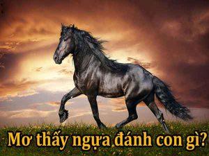 Mơ thấy ngựa đánh con gì trúng lớn?