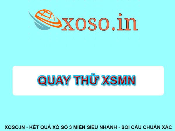 Giới thiệu quay thử xổ số miền Nam - Quay thử XSMN - Quay thử MN